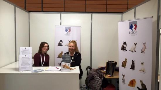 Stand du LOOF au Congrès des vétérinaires de l'AFVAC à Lyon